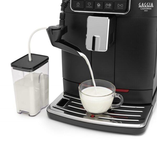 Gaggia milano cadorna milk zijkant met melkreservoir detail