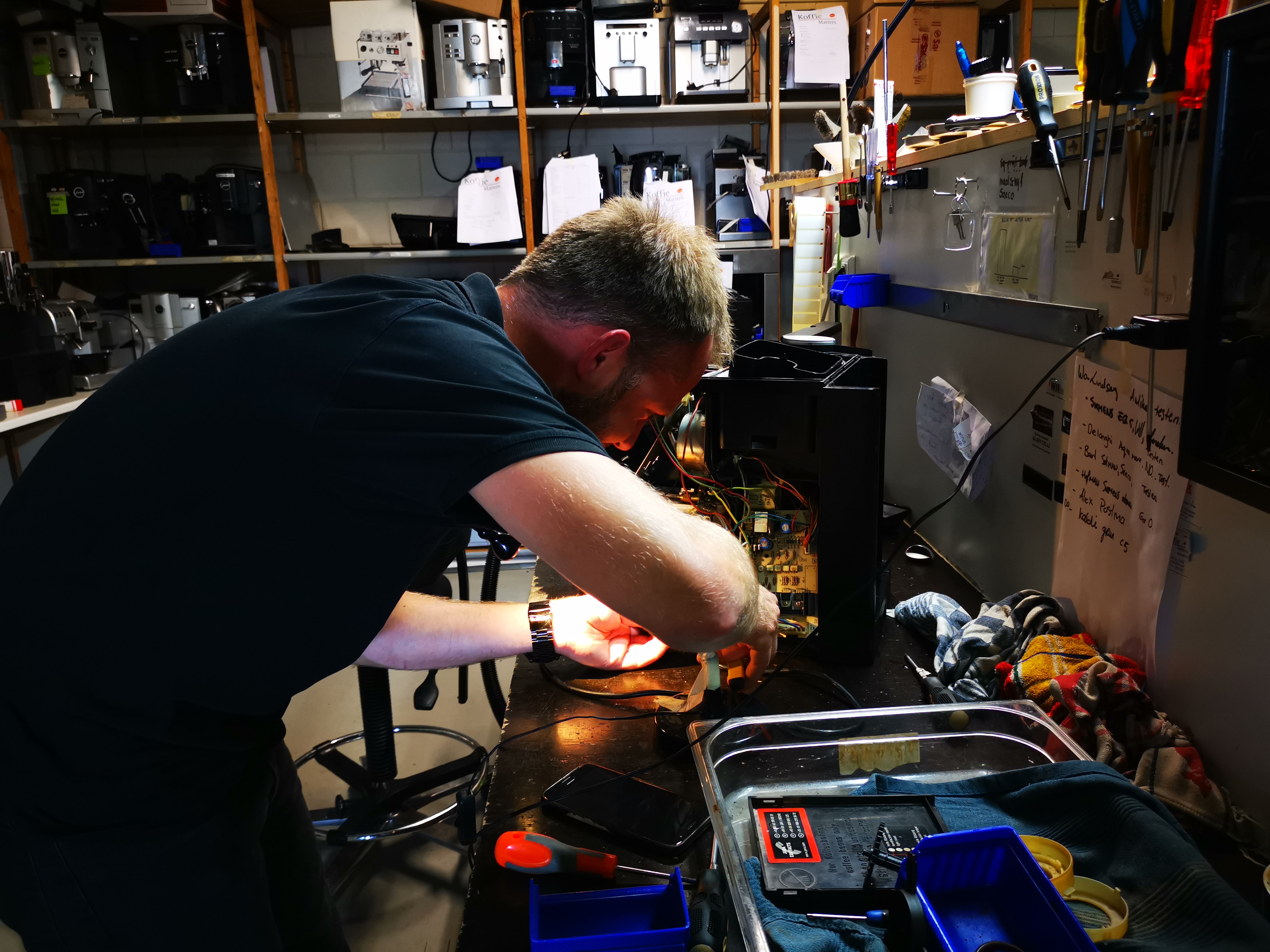 Koffiemachine reparatie bij KoffieMatters