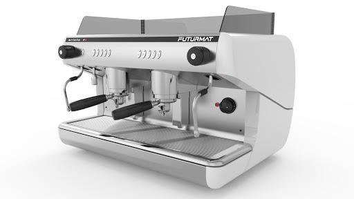 Witte espressomachine futurmat f3 elec